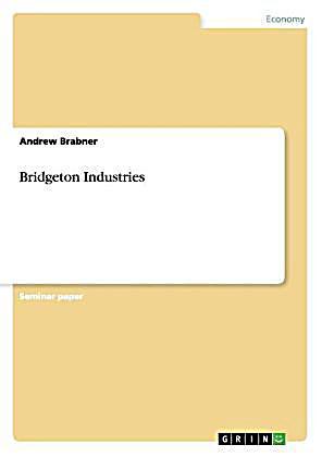 Bridgeton industries spreadsheet