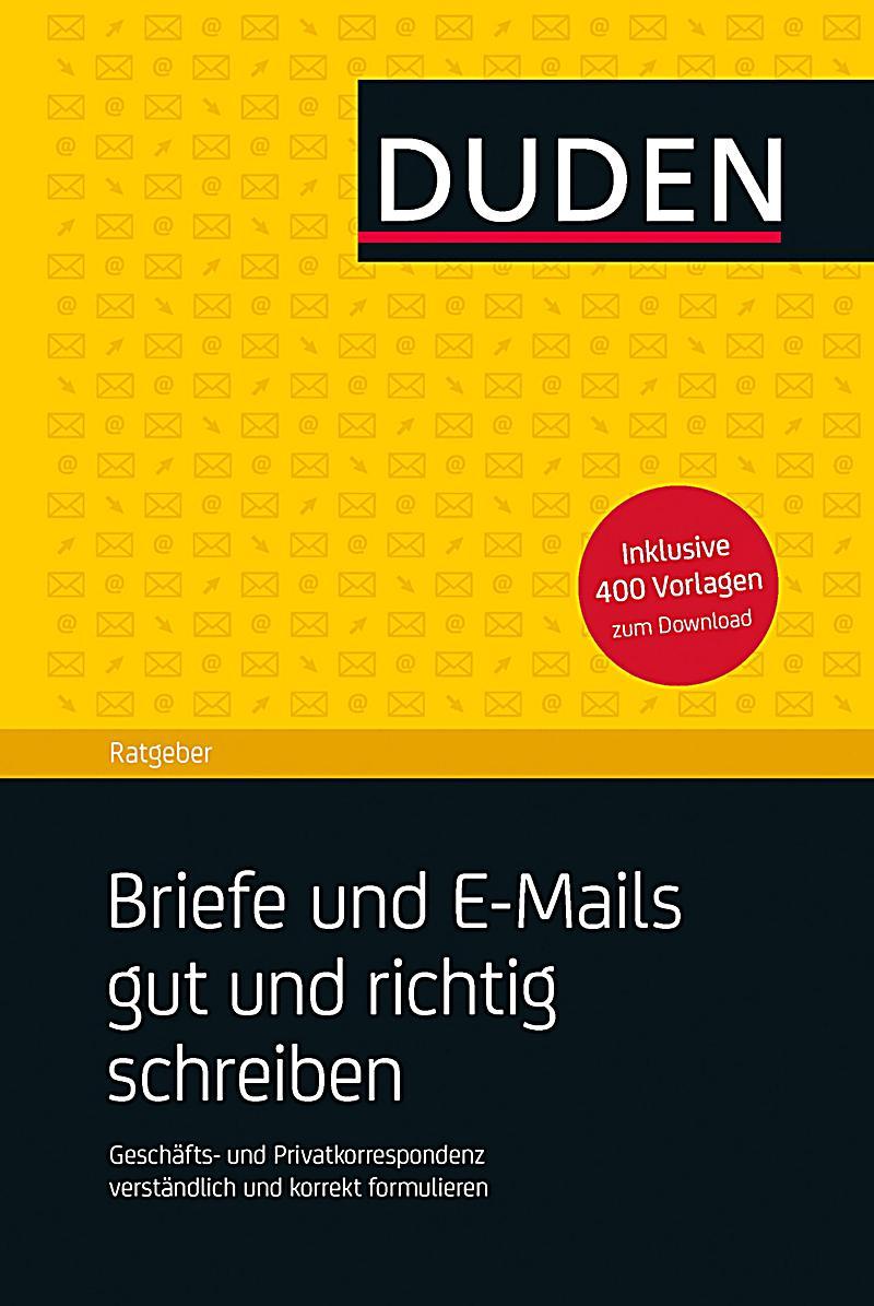 Briefe Richtig Xenia : Briefe und e mails gut richtig schreiben buch