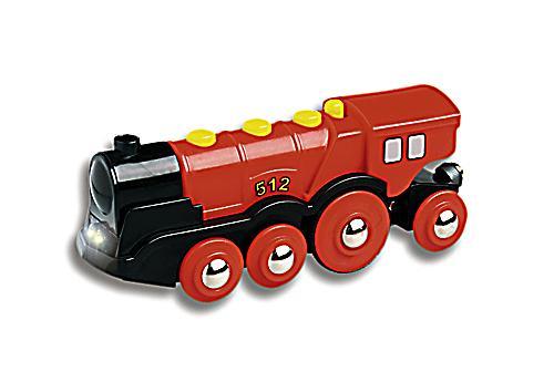 Brio batterielok rote lola spielzeugeisenbahn weltbild