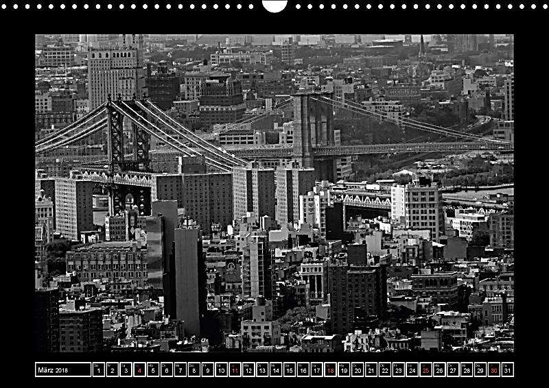 brooklyn bridge das wahrzeichen von new york city wandkalender 2018 din a3 quer kalender bestellen. Black Bedroom Furniture Sets. Home Design Ideas