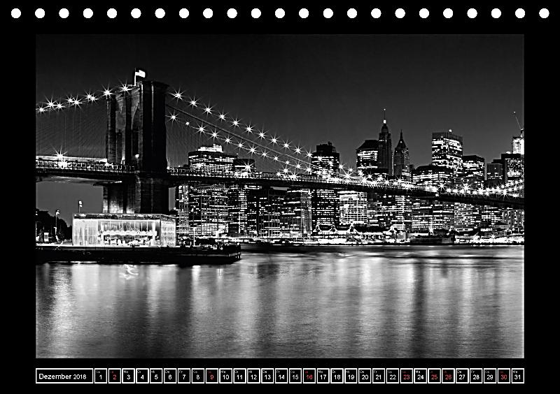 brooklyn bridge das wahrzeichen von new york city tischkalender 2018 din a5 quer kalender. Black Bedroom Furniture Sets. Home Design Ideas
