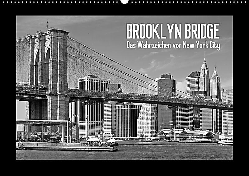 brooklyn bridge das wahrzeichen von new york city wandkalender 2018 din a2 quer kalender bestellen. Black Bedroom Furniture Sets. Home Design Ideas