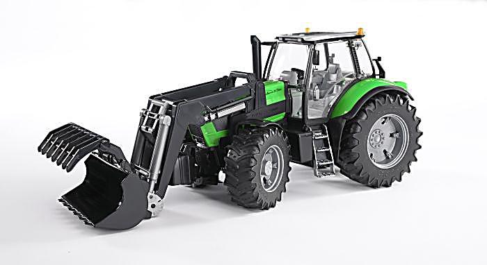 Bruder 3081 traktor deutz agrotron x720 mit frontlader