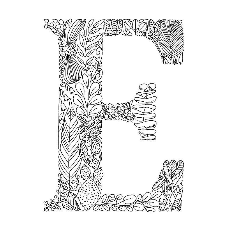 Buchstaben zum ausmalen und dekorieren buch for Dekorieren 9 buchstaben