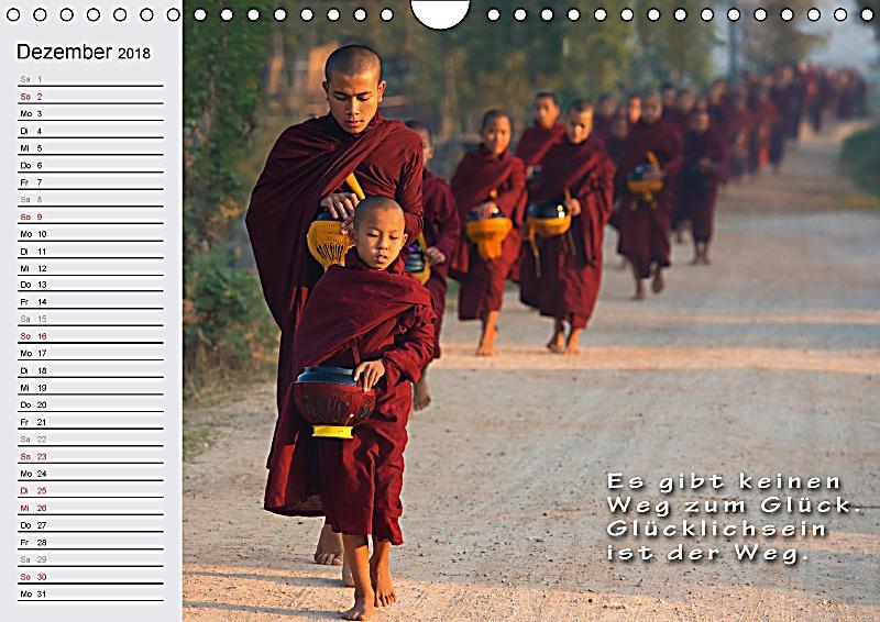Buddha buddhistische weisheiten wandkalender 2018 din a4 for Buddha bestellen
