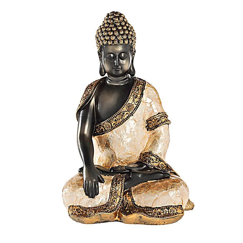 Buddha mit capiz auflage jetzt bei bestellen for Buddha bestellen