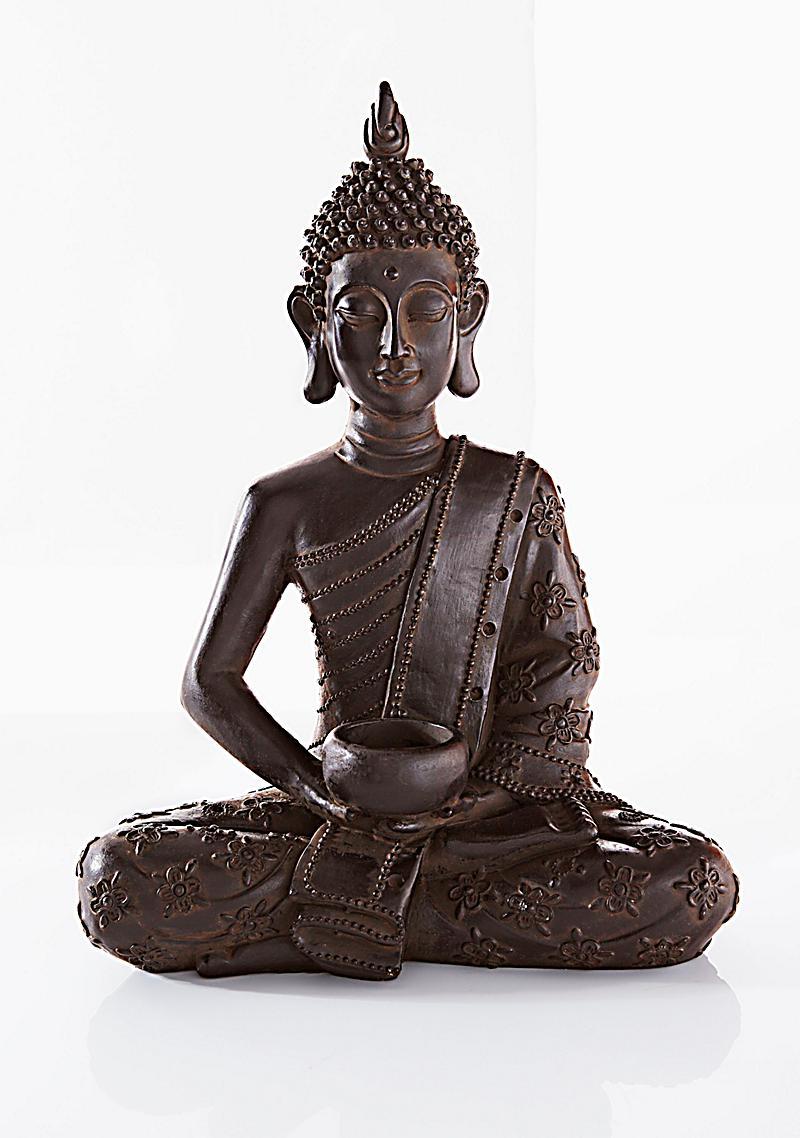 Buddha mit teelichthalter jetzt bei bestellen for Buddha bestellen