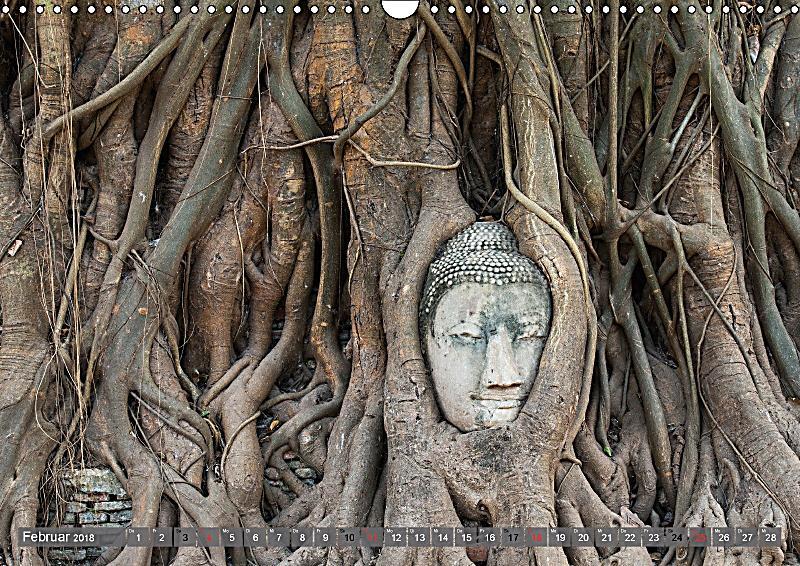 Buddha momente der inneren einkehr wandkalender 2018 din for Buddha bestellen