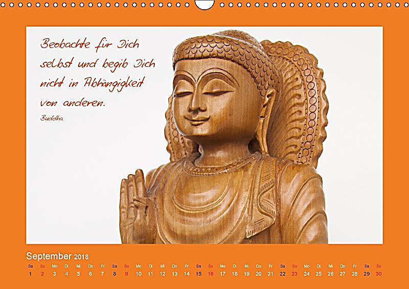 buddha zitate wandkalender 2018 din a3 quer dieser erfolgreiche kalender wurde dieses jahr mit. Black Bedroom Furniture Sets. Home Design Ideas