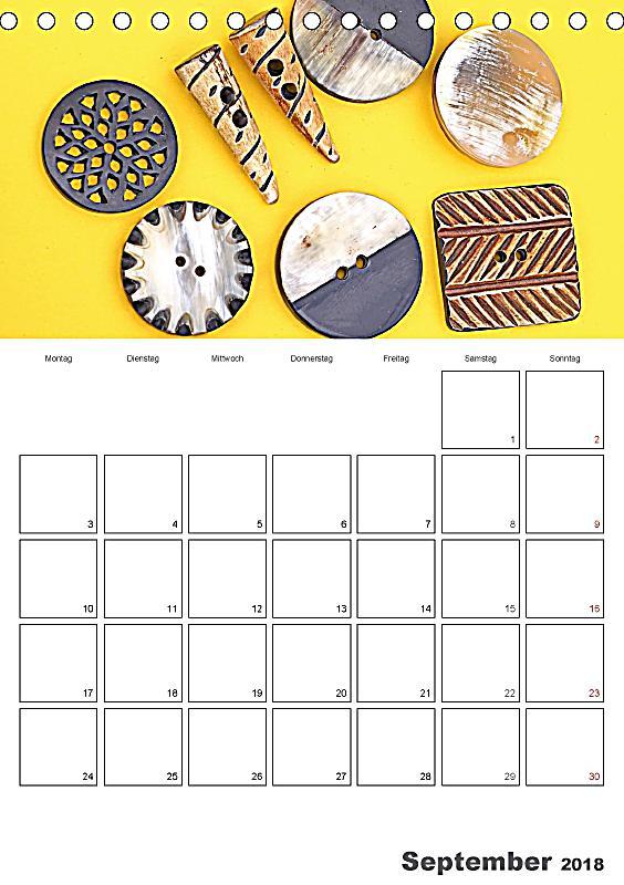 bunte kn pfe tischkalender 2018 din a5 hoch dieser erfolgreiche kalender wurde dieses jahr mit. Black Bedroom Furniture Sets. Home Design Ideas