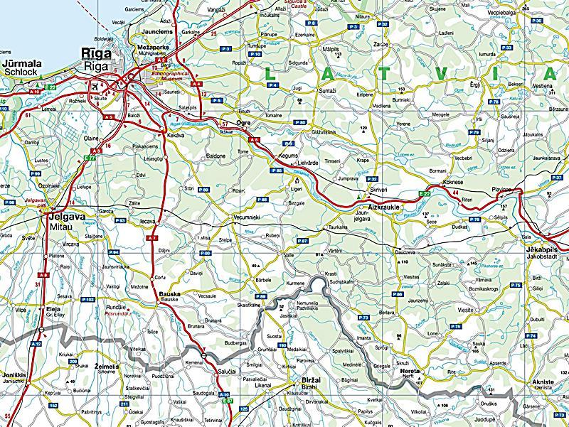 Busche Map Baltic States Buch bei Weltbild.de online bestellen