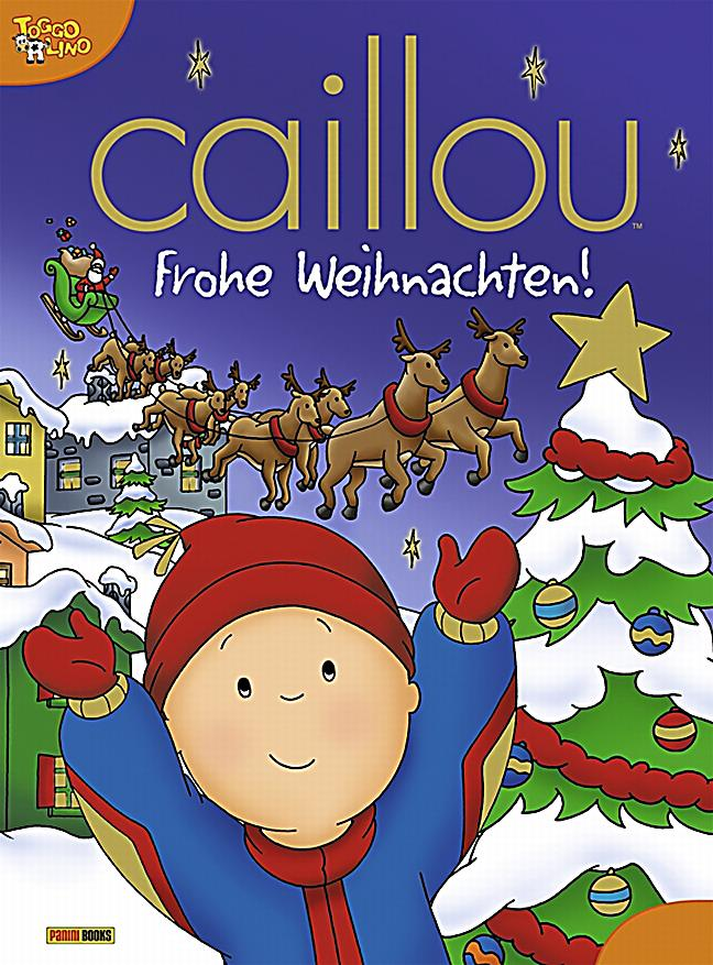 caillou frohe weihnachten buch bei online. Black Bedroom Furniture Sets. Home Design Ideas