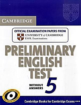 cambridge preliminary english test 1 with answers pdf