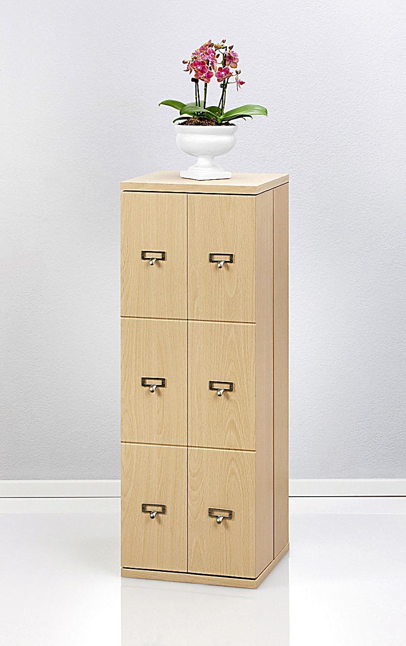 cd schrank bergamo f r 296 cds farbe buche. Black Bedroom Furniture Sets. Home Design Ideas