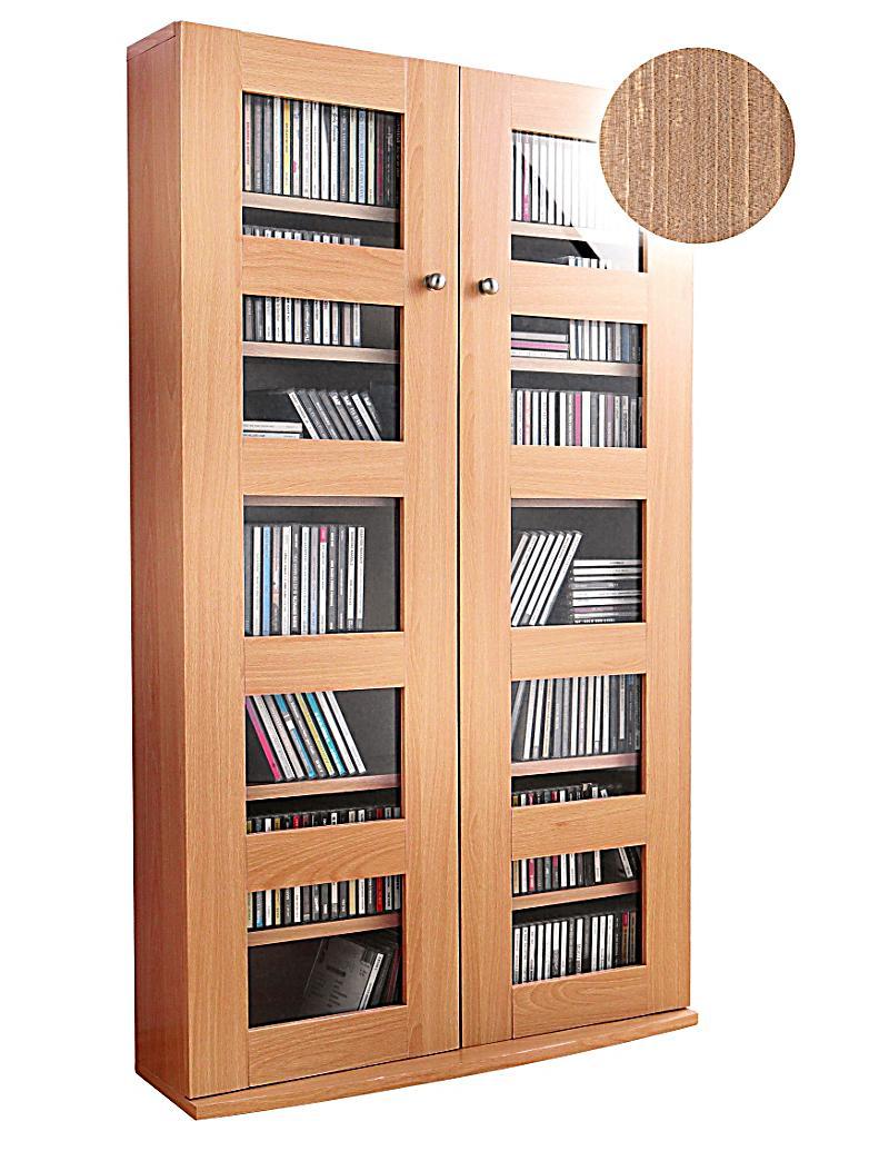 cd schrank farbe nussbaum jetzt bei bestellen. Black Bedroom Furniture Sets. Home Design Ideas