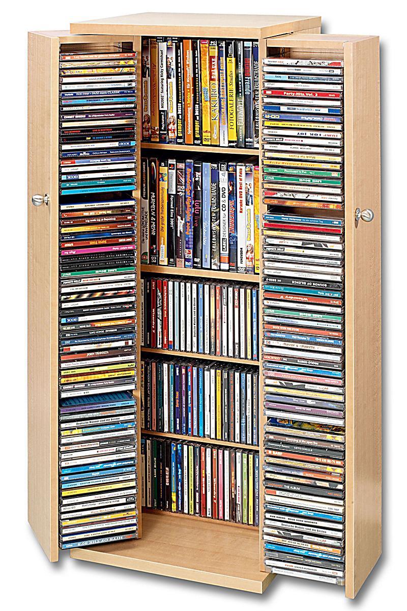 kommentare zu cd schrank f r 296 cds farbe kirsche. Black Bedroom Furniture Sets. Home Design Ideas