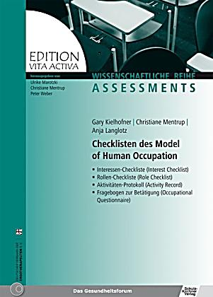model of human occupation kielhofner pdf