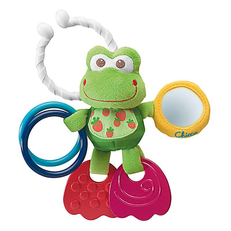 Chicco erste aktivitäten frosch babyspielzeug weltbild