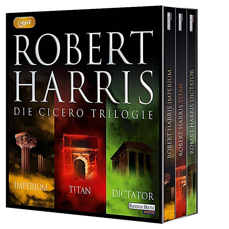 Cicero Trilogie, 3 MP3-CDs Hörbuch von Robert Harris