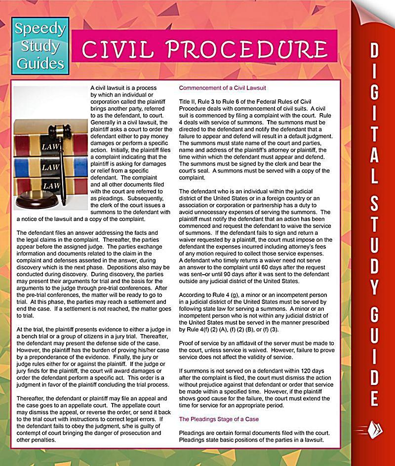 Study Material - Civil Procedure Code | Delhi Law Academy