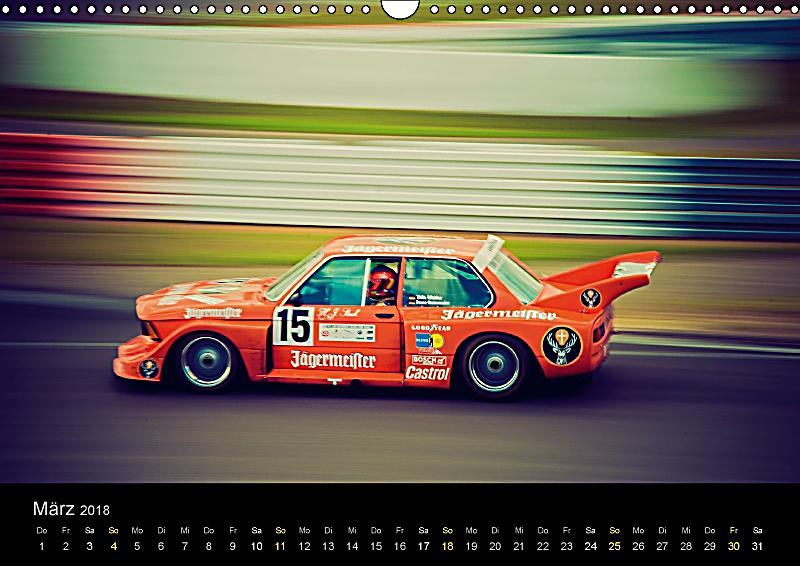 classic bmw racing wandkalender 2018 din a3 quer dieser. Black Bedroom Furniture Sets. Home Design Ideas