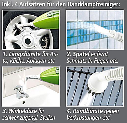 clean maxx multi dampfreiniger mit dreiecksfuss limegreen. Black Bedroom Furniture Sets. Home Design Ideas