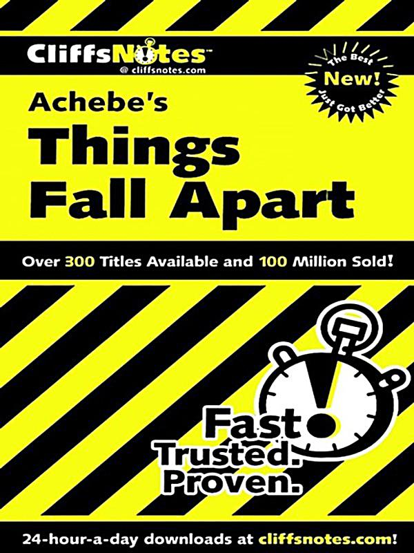 ch achebe things fall apart Things fall apart by chinua achebe chinua achebe chinua achebe remains the most read african author in the world things fall apart enormously successful first novel, published in 1958 has sold millions of copies and has been translated into numerous languages.