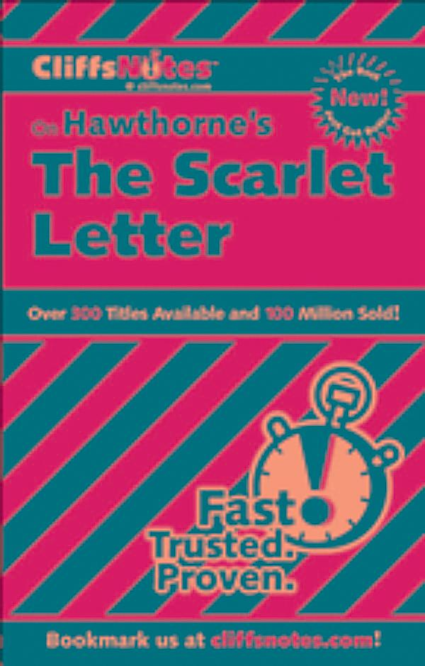 scarlet letter cliff notes cliffsnotes on hawthorne s the scarlet letter ebook 24741