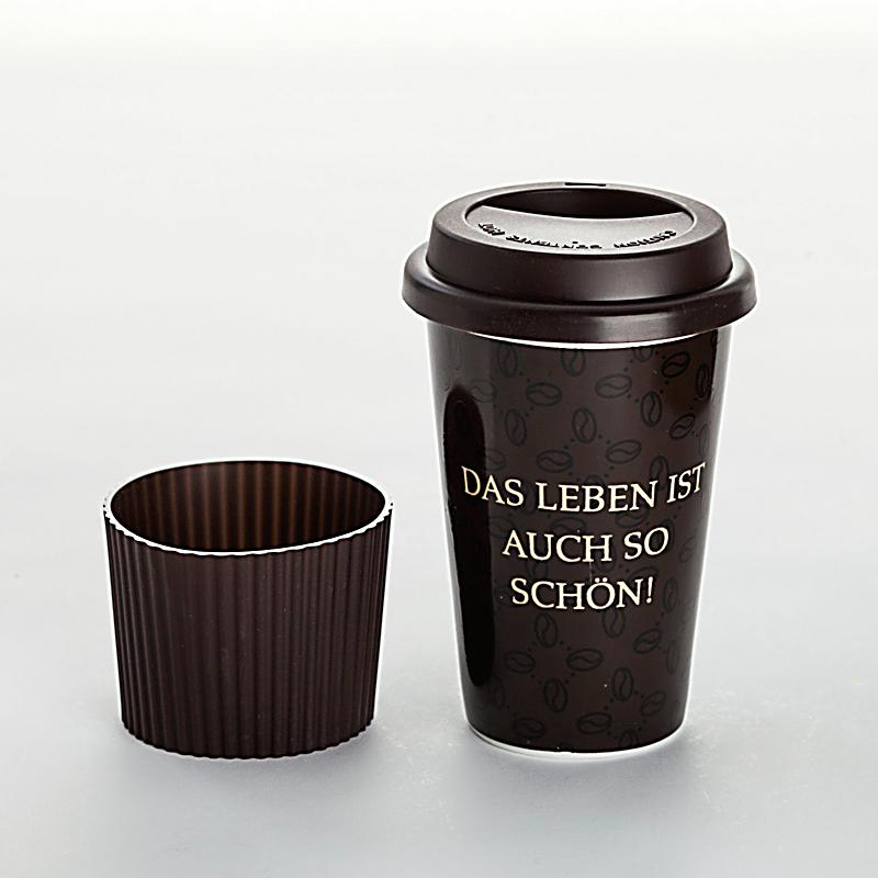 coffee to go becher prinzlos gl cklich bestellen. Black Bedroom Furniture Sets. Home Design Ideas