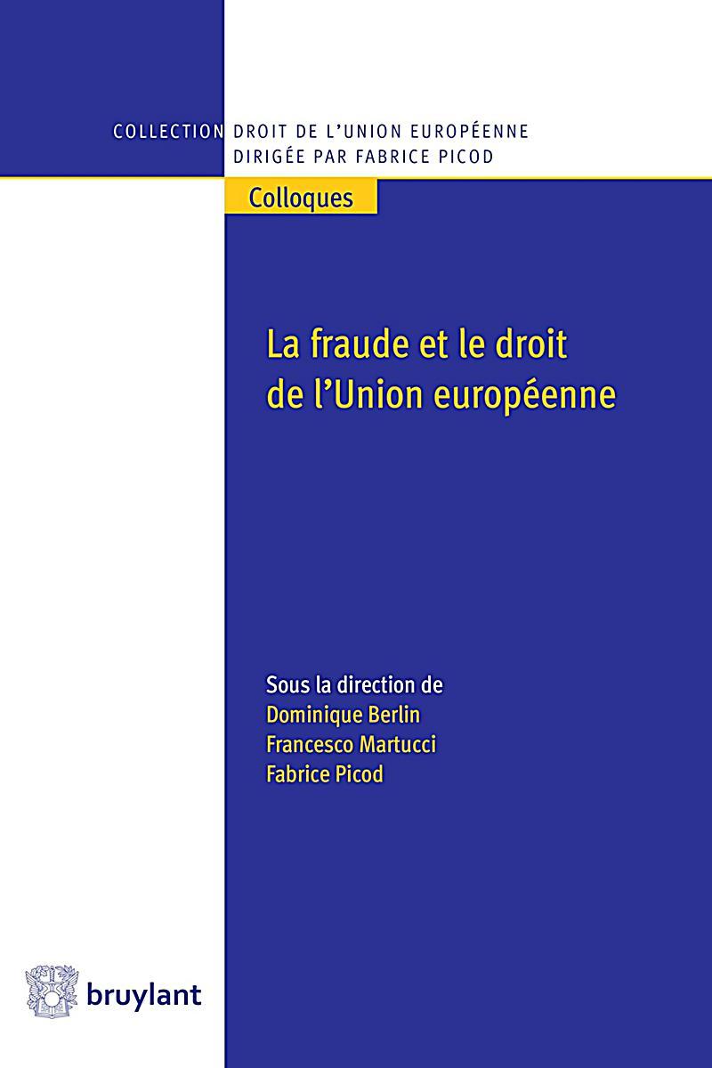 Collection droit de l 39 union europ enne colloques la - La chambre des preteurs de l union europeenne ...
