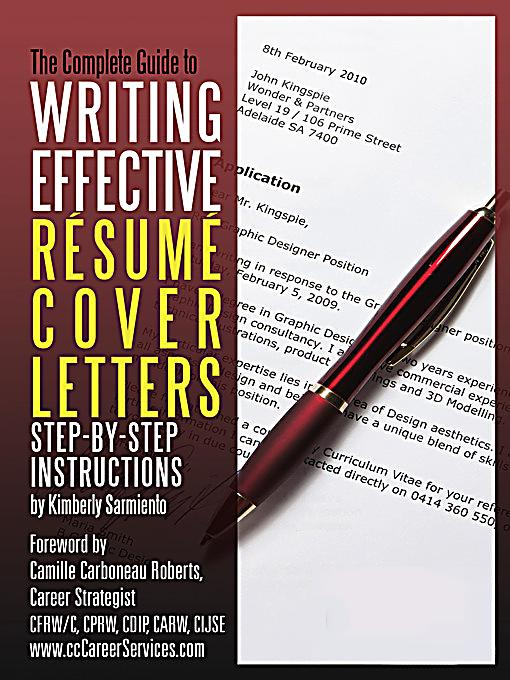 complete guide to writing effective resume cover letters