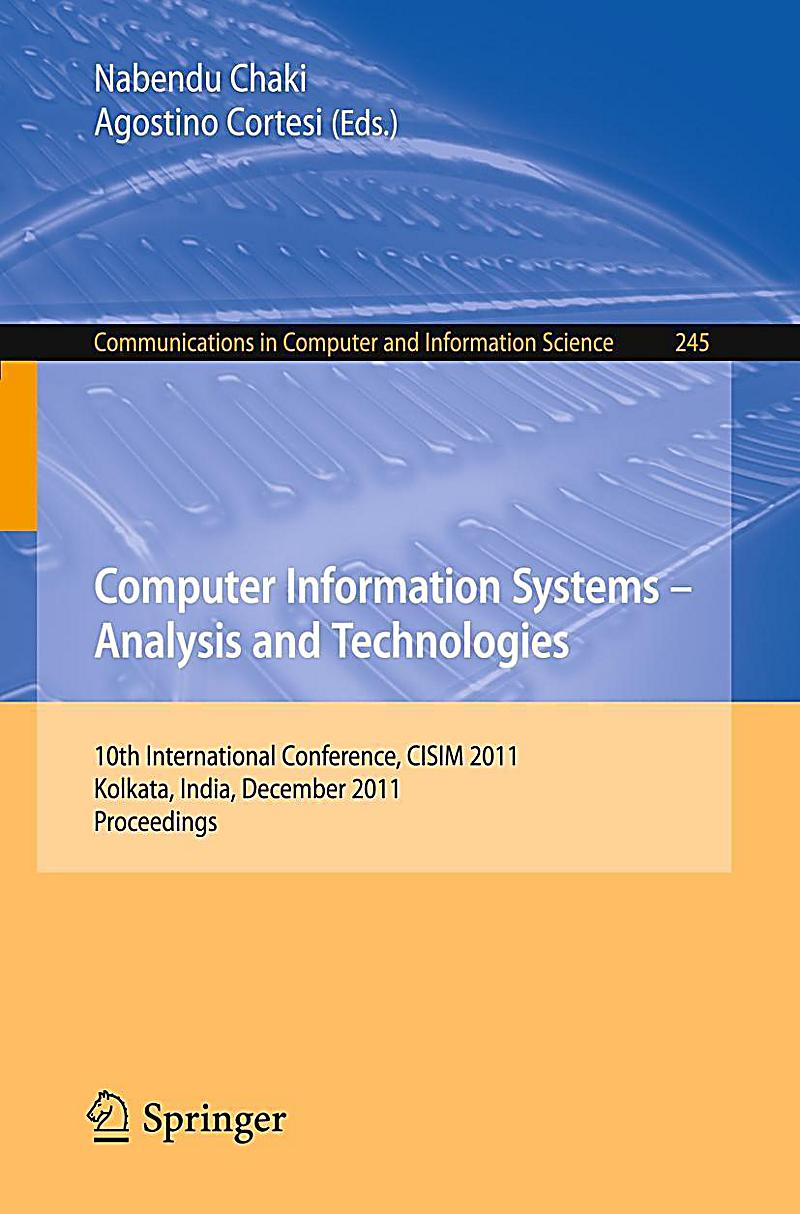 an analysis of computer information systems A master's in computer information systems from florida tech develops expertise in a wide variety of emerging technologies and system platforms.