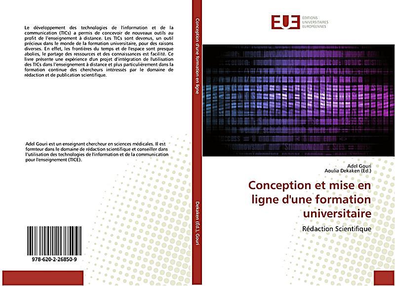 Conception et mise en ligne d 39 une formation universitaire for Conception d architecture en ligne