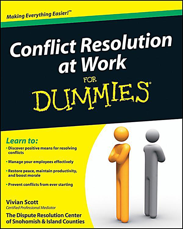 resolutions at workplace Explore three main causes of conflict in the workplace- leadership, cultural differences, and work style scenarios & resolution strategies.