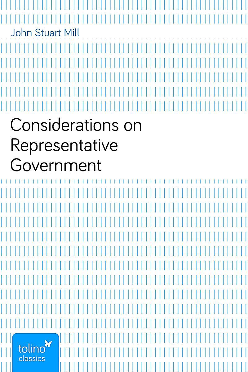 considerations on representative government pdf