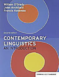 Buy Contemporary Linguistics by Francis Katamba With Free ...