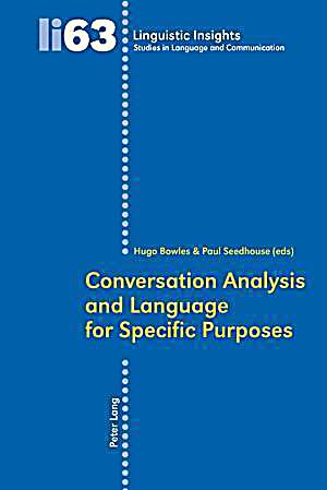 an introduction to the analysis of specific language A principles-based approach for english  introduction: language policy and proficiency standards  for the analysis of lpp from the macroscopic to microscopic.