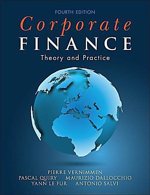 Vernimmen corporate finance