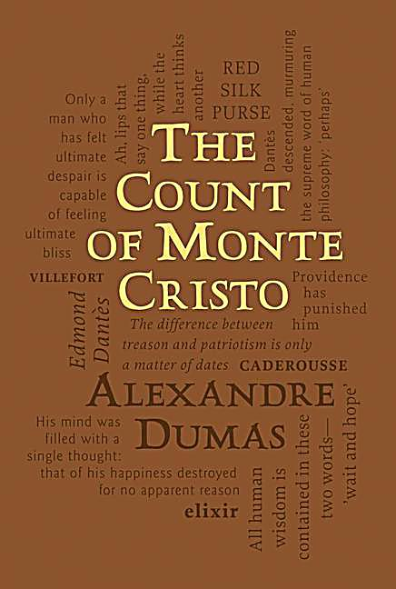 dumas the count of monte cristo essay Glenn boswell january 19, 2014 english 2 pages in book: 531 the count of monte cristo introduction the count of monte cristo was written by alexandre dumas it was first published in 1844.