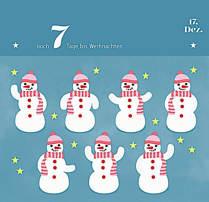 countdown nur noch 24 tage bis weihnachten adventsaufsteller. Black Bedroom Furniture Sets. Home Design Ideas