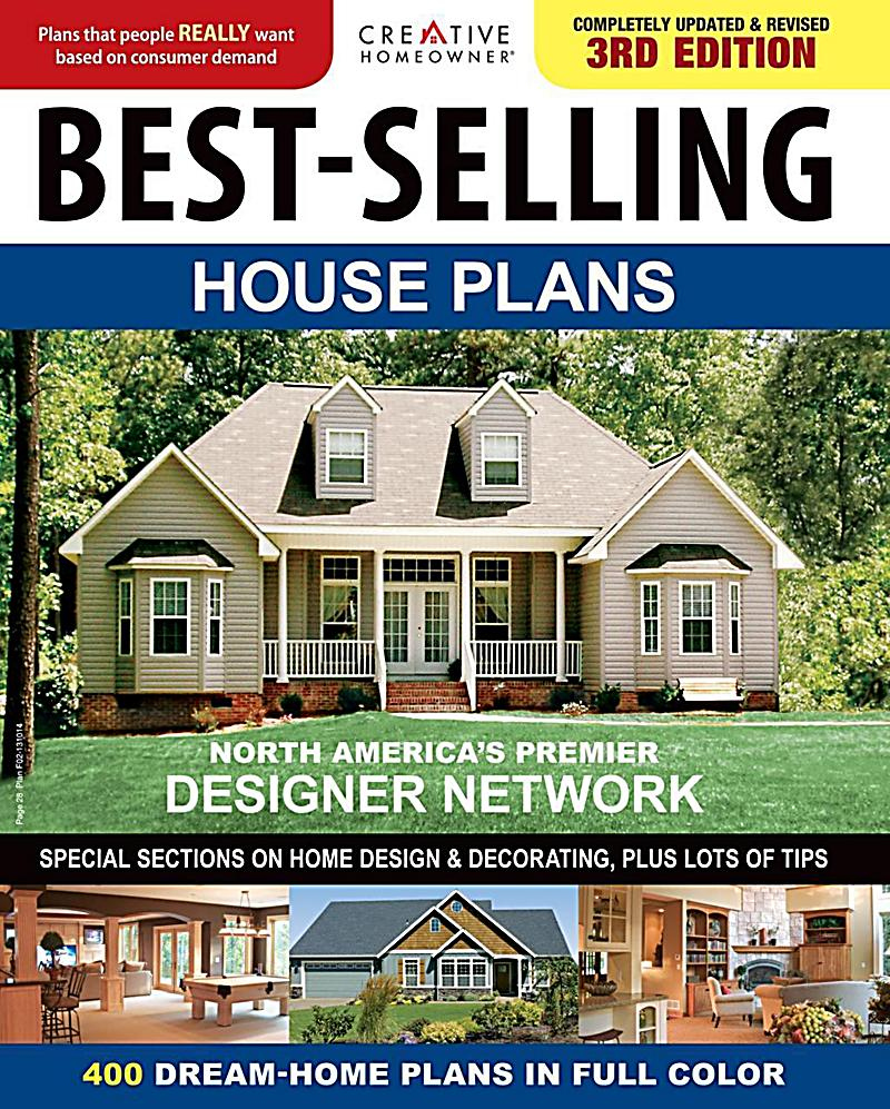 Creative homeowner best selling house plans ebook for Top selling house plans