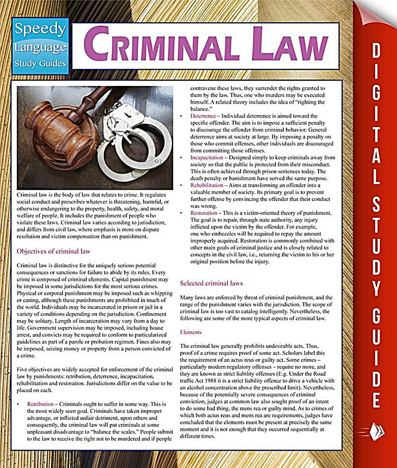 Understand Criminal Law in 18 Minutes (Part I) - YouTube