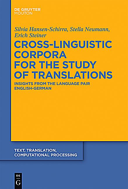 the application of corpora in translation Corpus-based translation studies has become a major paradigm and research methodology and has investigated a wide variety of topics in the last two decades the contributions to this volume.