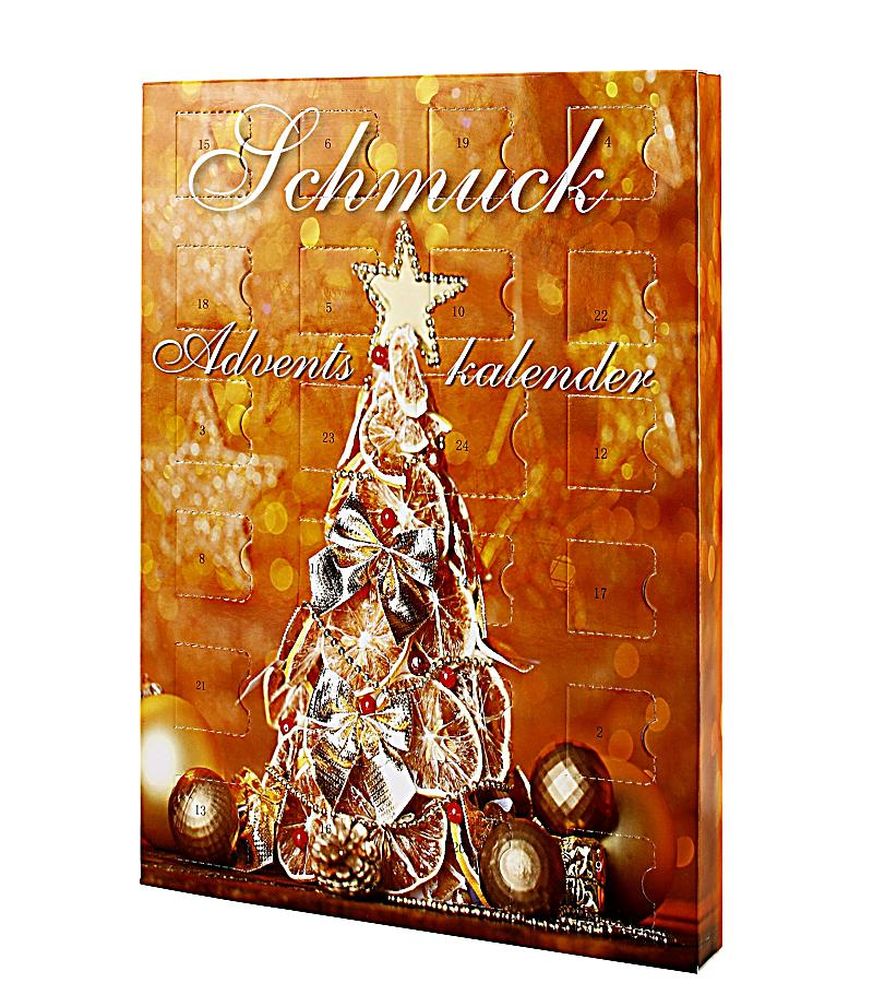 Der Anbieter von Modeschmuck Six liefert preisgünstige Schmuck-Adventskalender. Angesagte Figuren wie Elch und Eule finden sich auf dem Kalender-Cover wieder. Befüllt sind sie mit 24 Glanzstücken: .