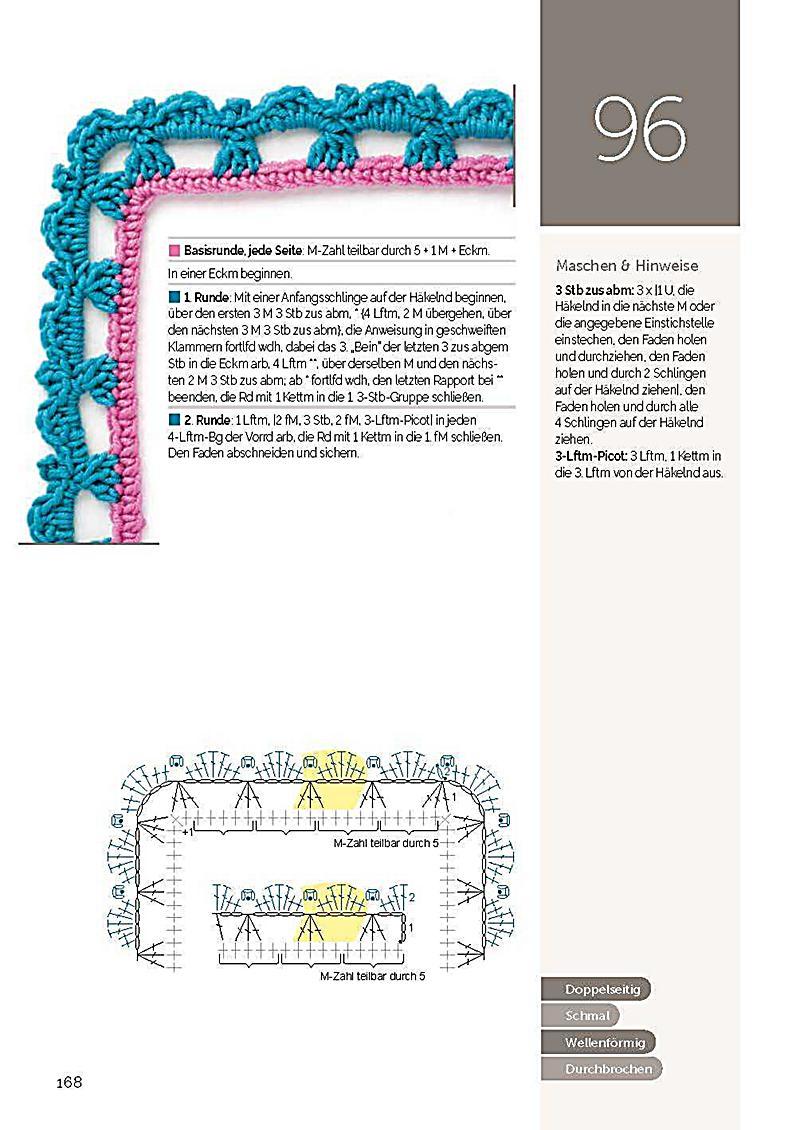 Fancy Freie Häkelnkantenmuster Image - Decke Stricken Muster ...