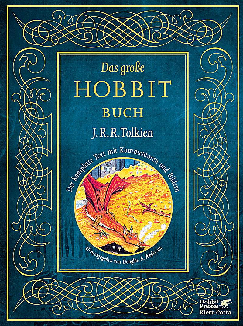 das gro e hobbit buch buch von j r r tolkien portofrei bestellen. Black Bedroom Furniture Sets. Home Design Ideas