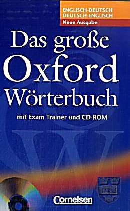 Das gro e oxford w rterbuch englisch deutsch deutsch for Englisch deutsche ubersetzung