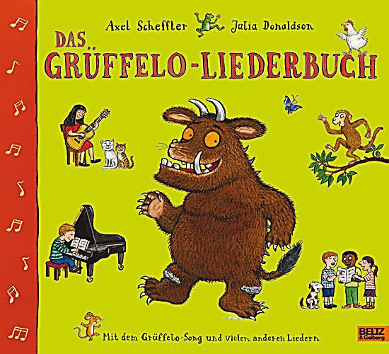 Das grüffelo liederbuch buch bei weltbild online bestellen