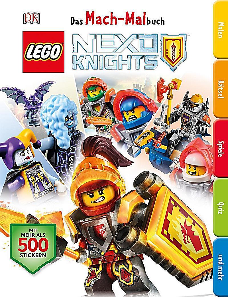Das Mach-Malbuch LEGO Nexo Knights Buch bei Weltbild.de bestellen