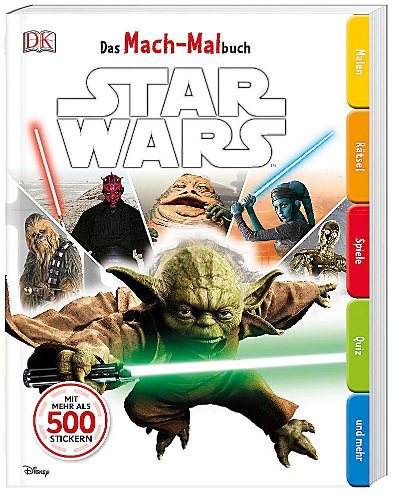 Das Mach-Malbuch. Star Wars Buch bei Weltbild.de online bestellen